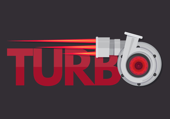 Turbocharger Illustration - бесплатный vector #402509