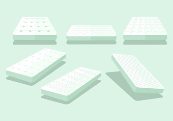 Mattress Vector Sets - Kostenloses vector #402539