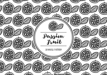 Free Vector Passion Fruit Pattern - Kostenloses vector #402879