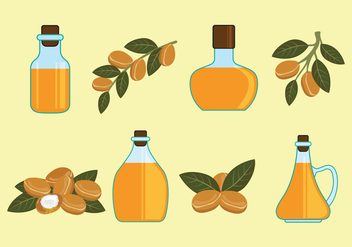 Argan Vector Icons - Free vector #403079