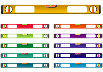 Construction Level Vector Set Colorful - Free vector #403129