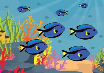 Free Seabed Illustration - Free vector #403279