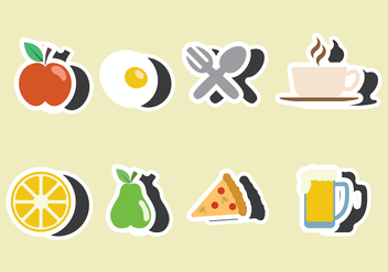 Fridge Magnet Vector - бесплатный vector #403309
