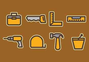 Building Tools Vectors - Free vector #403329