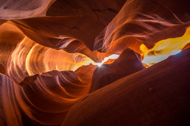 the heart - antelope canyon III (Page USA) - Kostenloses image #403459