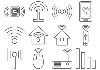 Free Signal Icon Vector - Free vector #403849