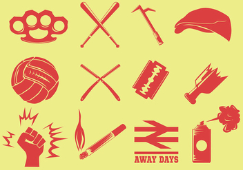 Hooligans Icon - Free vector #403899
