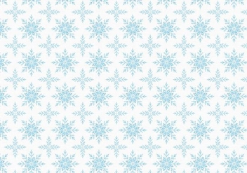 Free Vector Snowflakes Pattern - Free vector #404049