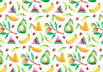 Free Vector Watercolor Mango Illustration - бесплатный vector #404069