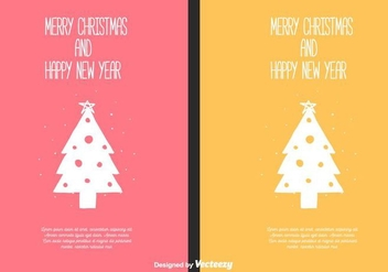 Free Christmas Cards - Kostenloses vector #404359