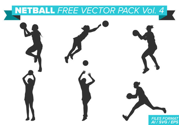 Netball Free Vector Pack Vol. 4 - бесплатный vector #404379