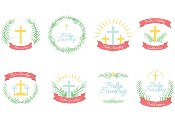 Free Palm Sunday Vector - бесплатный vector #404459