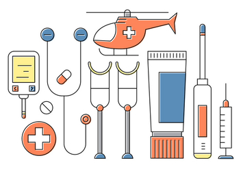 Free Medical Icons - vector #404539 gratis
