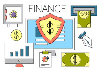 Free Finance Icons - vector #404629 gratis