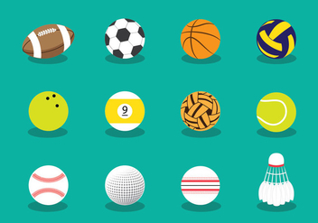 Balls Icon - vector #404819 gratis