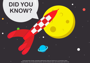 Trivia Spaceman and Spaceship Encyclopedia - Free vector #405029