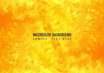 Free Vector Watercolor Background - Free vector #405219