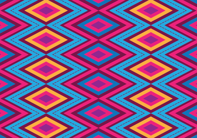 Bright Songket Vector - Free vector #405229