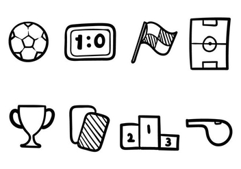 Futsal Icon Set - Free vector #405479