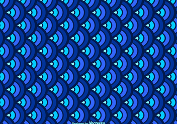 Free Fish Scale Vector Pattern - бесплатный vector #405719