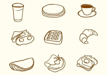 Free Breakfast Vector - Free vector #406169