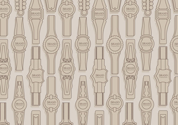 Cigar Label Pattern Vector - Free vector #406259