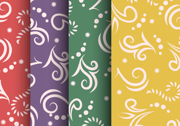 Traditional Maori Vector Borders and Patterns - Free vector #406469