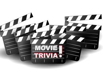 Movie Trivia Background Illustration - vector gratuit #406559