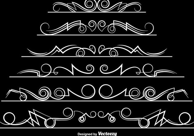 Vector Ornamental Dividers - vector gratuit #406619