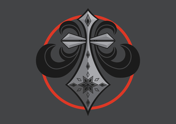 Affliction Logo Illustration - Free vector #407049