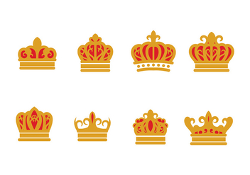 British Crown Vector - vector #407099 gratis