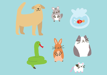 The Perfect Pet for You - Free vector #407259
