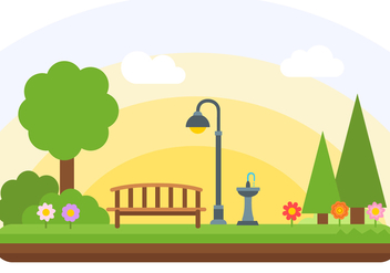 Free Park Vector - Free vector #407289