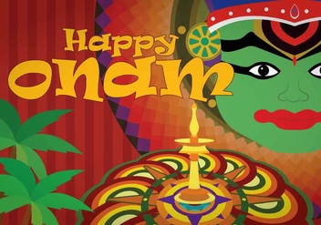 Free Onam Illustration - vector #408059 gratis