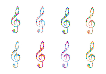 Violin Key Logo Vector - бесплатный vector #408139