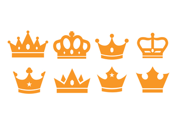 Free British Crown Vector Pack - vector gratuit #408199