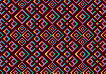 Ethnic Huichol Seamless Pattern - Free vector #408359