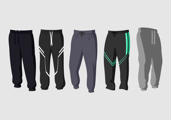 Sweatpants Free Vector - бесплатный vector #408549