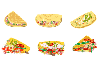 Omelet Free Vector - Free vector #408569