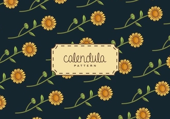 Calendula Background - vector #409259 gratis