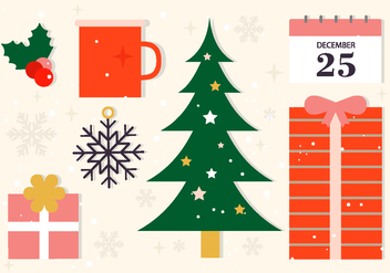 Free Christmas Vector Elements - Kostenloses vector #409479