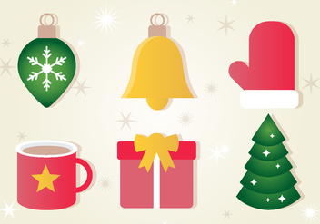 Free Christmas Vector Icons - Kostenloses vector #409489