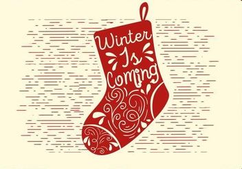 Free Christmas Vector Socks Illustration - vector gratuit #409509