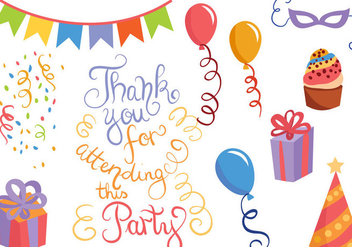 Free Party Vectors - vector #409579 gratis