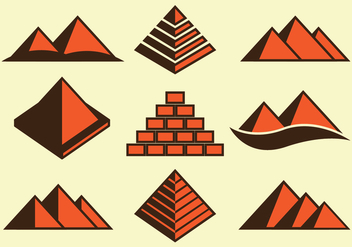 Piramide Icons - Free vector #409619