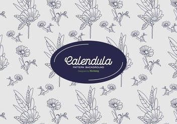 Calendula Background - Kostenloses vector #409779
