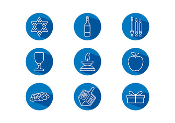 Shabbat Icon Free Vector - бесплатный vector #409849