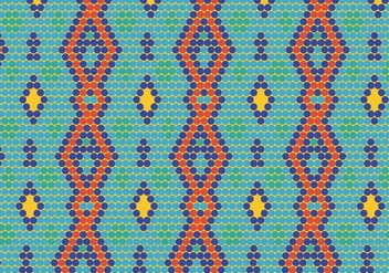 Navajo Background - vector #409889 gratis