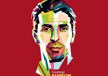 Gianluigi Buffon - WPAP - бесплатный vector #410249