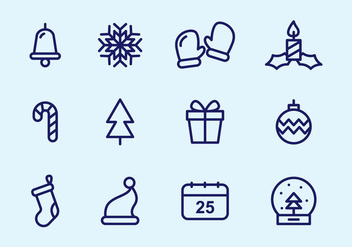 Free Christmas Icons - Kostenloses vector #410389